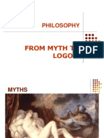 From Myth to Logos