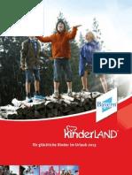 Kinderland Bayern Gesamtkatalog 2013