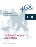 The Great Happiness Moderation