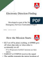 Basic DF / ELT Mission Overview