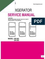 GN-234SQA Service Manual LG Frizider