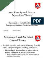 Aircraft Crash Site Procedures