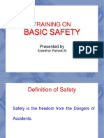 Basic Safety Training Ppt