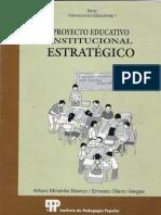 Proyecto Educativo Institucional Estratégico IPP