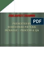 Fire & Safety Training Presentation