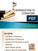 Introduction to Literature