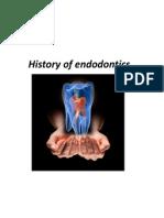 History of Endodontics