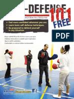 Self-Defense 101 Class Oct 2012
