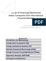 International Banking Project International Financing Trends v1.0