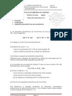 Ficha 1 Física 12º ano