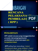 Pengembangan RPP SMA