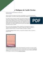 Lesiones Pre malignas de Cervix.docx