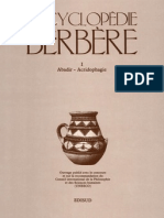 Encyclopédie Berbère Volume 1