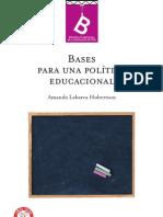 Bases para una política educacional- Amanda Labarca