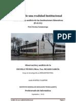 Ejemplo de Un Analisis Institucional de Una Escuela de Uruguay Utu-escuela-tecnica-Del-cerro-mtro-nicasio-garcia[1]