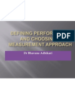 4 Defining Performance and Choosing a Measurement Approach