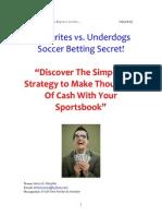 Rich Soccer Betting System