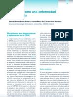 1.La EPOC Como Una Enfermedad Inflamatoria.