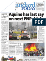 Manila Standard Today - Saturday (September 29, 2012) Issue
