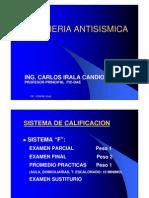 Introduccion Curso Ingenieria Antisismica - 2009