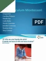 Curricum Montessori