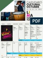 Agenda Cultural de Lima Octubre 2012