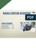 Bajaj Chetak PLC