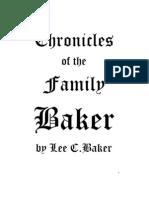 Chronicles of the Family Baker