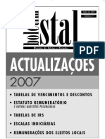Boletim do STAL - Edição 27 - Julho 2007
