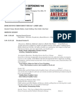 New Jersey Defending the American Dream Summit Agenda - Oct. 13, 2012