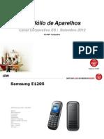 PLANO CLARO - Portfólio de Aparelhos - Setembro 2012 - Versão completa DDD 21, 22, 27 e 28