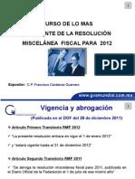 curso 2012 resoluciòn miscelanea