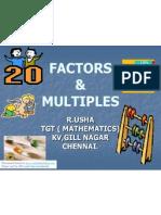 Factors Multiples