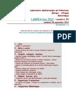 LAMPEA-Doc 2012 – numéro 34 / vendredi 28 septembre 2012