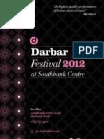 7th Darbar Festival (U.K.) - 27-30 September 2012