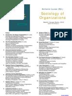 Sociology of Organizations - Information