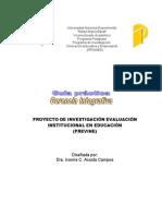 Guía práctica de gerencia integrativa2009