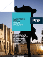 FA de La Creativite Dans Le Financement de La Culture V28-09