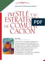 Nestle Estrategia de Comunicacion