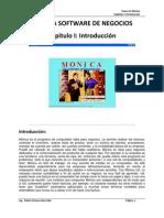 Texto de Monica Software de Negocios