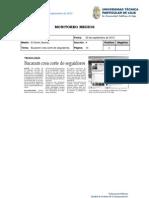 Informe de prensa semana del 21 al 28 de septiembre