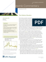 Weekly Economic Commentary 9/24/2012