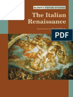 Harold Bloom the Italian Renaissance