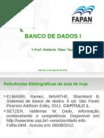 Banco de Dados 1 - Apresentaçaõ 1