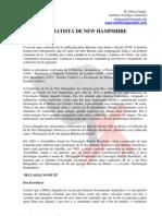 CONFISSÃO BATISTA DE NEW HAMPSHIRE