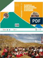 Un modelo de manejo sostenible de recursos naturales en ecosistemas de alta montaña