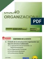 Semana 4 El Diseno de La Estructura de La Organizacion Los Tipos de Estructura Tradicionales 1