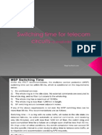 Switching time for telecom circuits-a small intro….