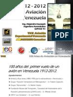 100 Años Aviación en Venezuela - Alejandro Irausquín, Ing. Aeronautico Sept2012
