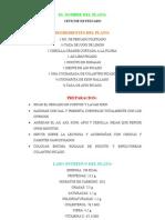 Valor Nutricional Del Ceviche